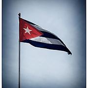 Cuban flag.