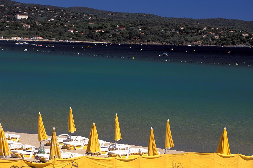 Beach at Cavalaire sur Mer, Provence Alpes Cote d'Azur, France