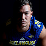 Photo of Delaware Free Safety Ryan Torzsa (24) taken Sunday, August 14, 2016, at Delaware Field House Facility on the campus of the university of Delaware in Newark.