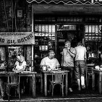 The Hummus Bar at the Jaffa flea-market