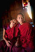 Asia, Bhutan, Wangdi Phodrang, Dzong, Thongdrol, Cham, Tsechu