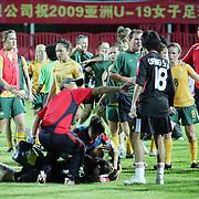 China v Australia soccer brawl