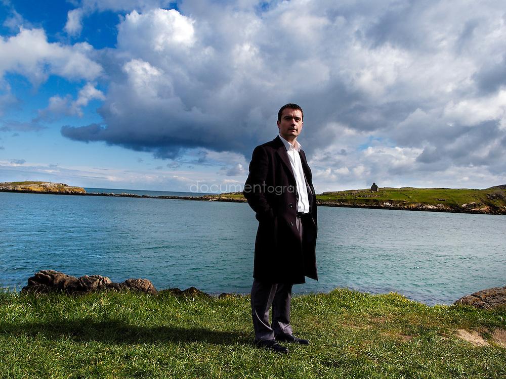 Laurent Girard-Claudon, Managing Director of Approach People Recruitment near Blackrock, Ireland.