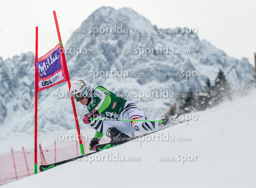 28.12.2013, Hochstein, Lienz, AUT, FIS Weltcup Ski Alpin, Lienz, Riesentorlauf, Damen, 1. Durchgang, im Bild Viktoria Rebensburg (GER) // during the 1st run of ladies giant slalom Lienz FIS Ski Alpine World Cup at Hochstein in Lienz, Austria on 2013-12-28, EXPA Pictures © 2013 PhotoCredit: EXPA/ Michael Gruber