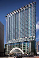 office block in moorgate, city of london