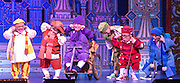 London, UK. Wimbledon Theatre, London is host to the actress Priscilla Presley making her pantomime and London stage debut as The Wicked Queen, joined by film and TV star Warwick Davis as Prof and funny man Jarred Christmas who also makes his pantomime debut as Herman the Henchman.