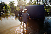 Rescue crews from &quot;Four Paws&quot; operate in Obrenovac, Serbia<br /> <br /> Matt Lutton / Boreal Collective<br /> <br /> Flooding in Serbia