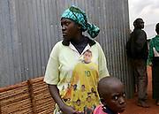 Returnee from Tanzania. 27 October 2004.ONUB/Martine Perret