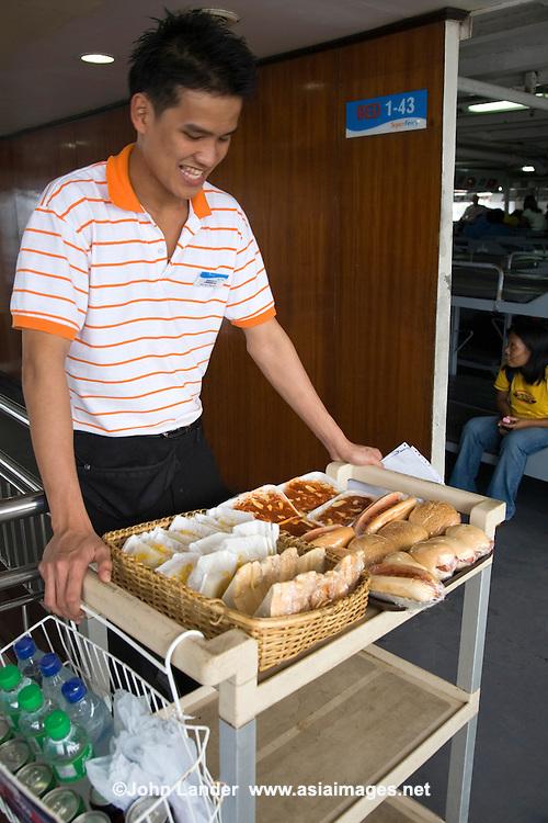 Snack Trolley on Filipino Ferry