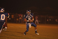 Water Valley's E.J. Bounds (5) vs. Coffeeville in Coffeeville, Miss. on Friday, August 24, 2012. Water Valley won.