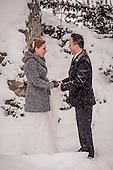 Beth & Arden's winter wedding