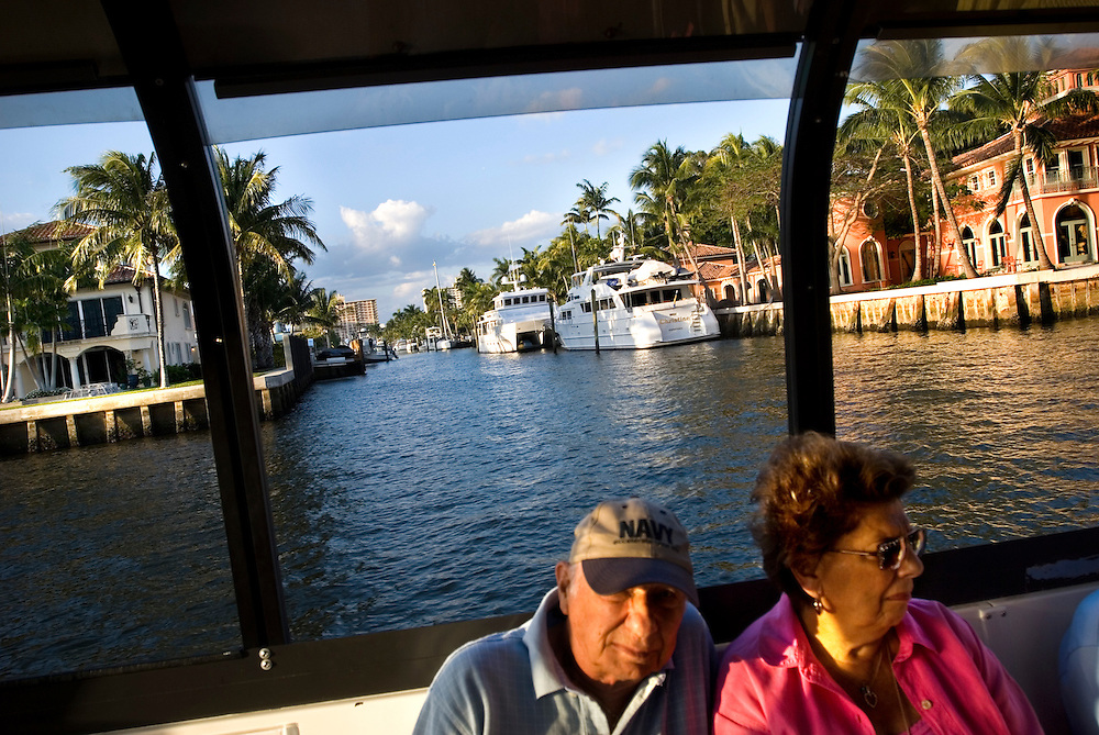 Travel story about Fort Lauderdale, Florida.Water Taxi tour ..Photographer: Chris Maluszynski /MOMENT