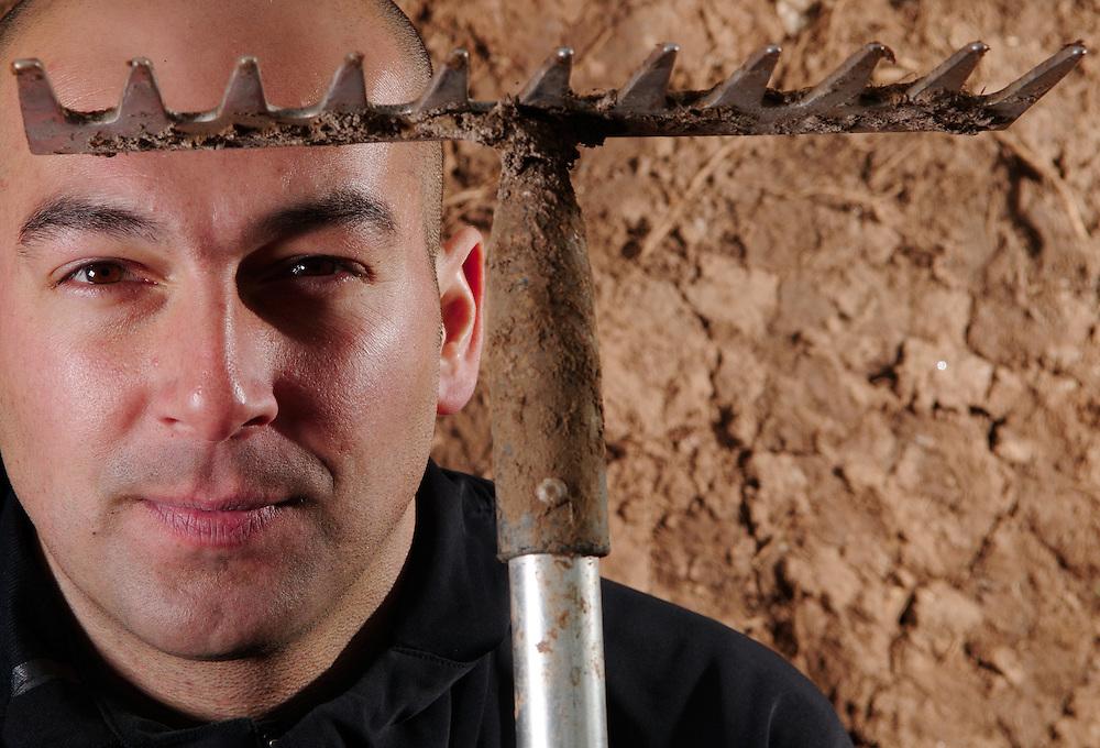 UCI 4X course designer Phil Saxena