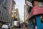 midtown New York City street scene
