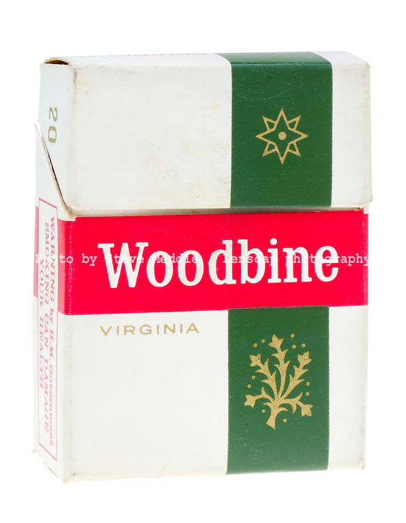 Packet of 20 Woodbine Cigarettes
