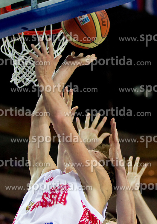 Symbolic photo during basketball match between National teams of Russia and Ukraine in Group D of Preliminary Round of Eurobasket Lithuania 2011, on August 31, 2011, in Arena Svyturio, Klaipeda, Lithuania. (Photo by Vid Ponikvar / Sportida)