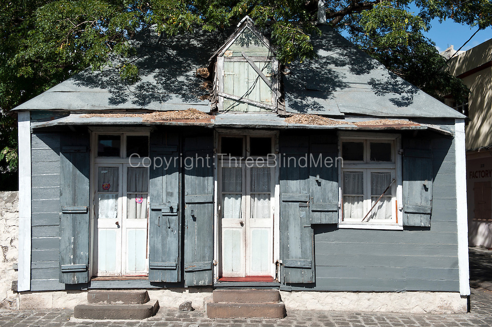 Mauritius. The Gassy House.  Ail Dore, street. Port Louis.