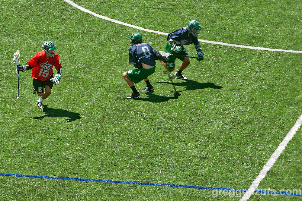 Treasure Valley Lacrosse League D1 All Star Game at Lincoln Turf Field at Boise State University on June 7, 2014.