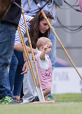 JUN 15 2014 Baby George at the  Polo Trophy