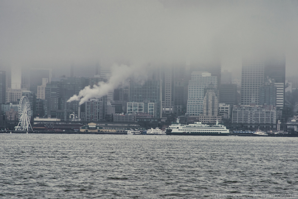 Seattle Watefront from Harbor Avenue