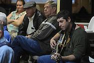 Ken Phelps of Blackjack was among musicians playing at Blcackjack Connection at Blackjack Presbyterian Church near Sardis Lake on Monday, March 21, 2010.