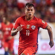 Chile Attacker EDUARDO VARGAS (11) in action in the second half of a Copa America Centenario Group D match between the Chile and Panama Tuesday, June. 14, 2016 at Lincoln Financial Field in Philadelphia, PA.