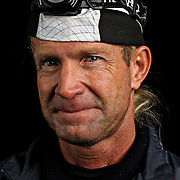 Portrait of ultra marathon runner Dan Wilson moments after completing the Grind Stone 100 Mile ultra marathon in Swoope, VA, Friday, Oct. 04, 2008...Gallup completed the race in 35 hours, 19 minutes and 47 seconds...The Grindstone is the hardest 100 mile race east of the 100th meridian. ...