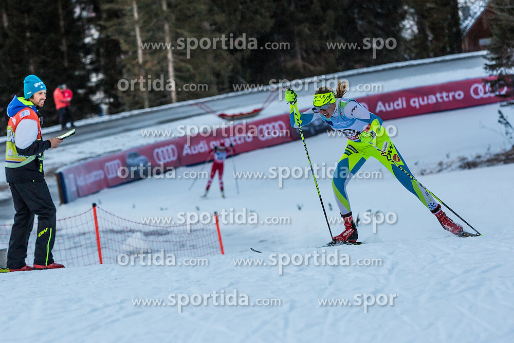 Anita Klemencic of Slovenia during Ladies 1.2 km Free Sprint Qualification race at FIS Cross Country World Cup Planica 2016, on January 16, 2016 at Planica, Slovenia. Photo By Grega Valancic / Sportida