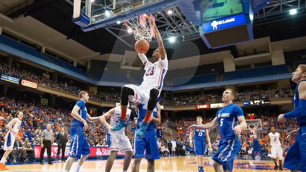 Boise State University Men's Basketball vs. Air Force, John Kelly photo