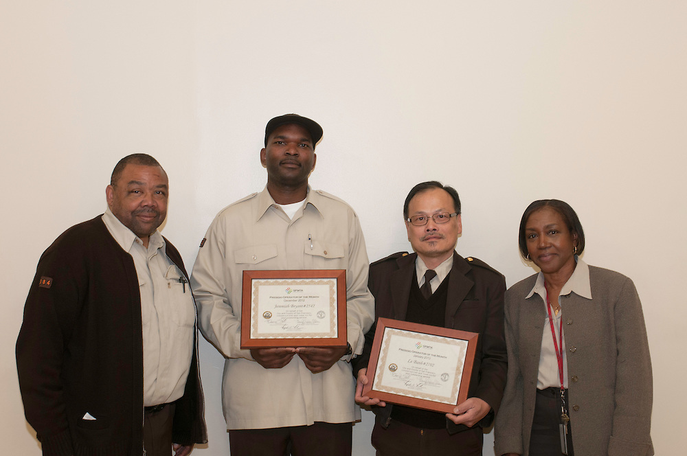 Presidio Division Operator of the Month Awards for January, Le Banh and December 2012, Jeremiah Bryant | February 13, 2013