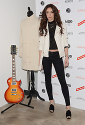 Danielle Peazer attends March of the Mods launch party to celebratethe launch of  Richard Weight's new Green Label Collection and book at Gibson Lounge, Eastcastle Street, London, W1 on Wednesday 11 February 2015