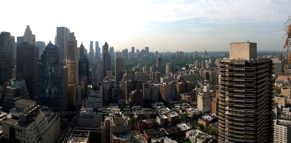 Skyline and Central Park