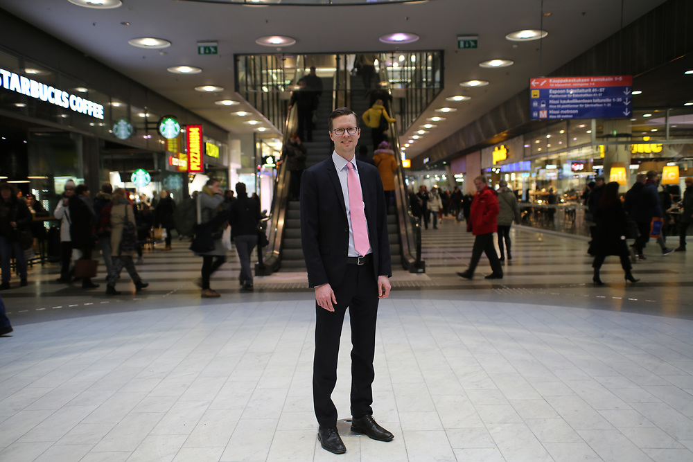 Markus Kanerva, directeur général de Tänk, Think Tank
