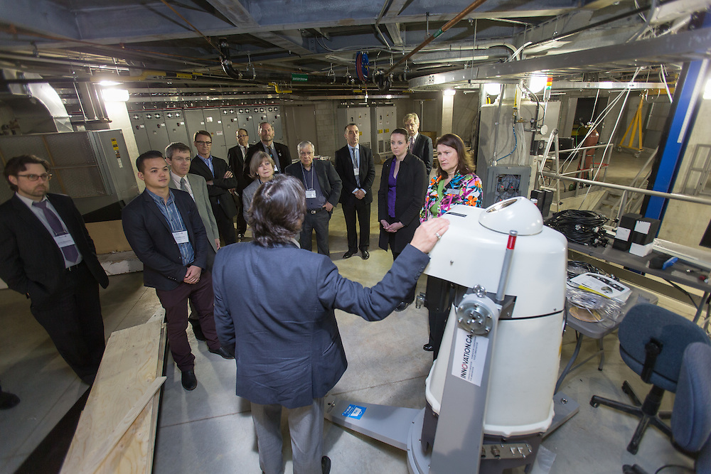 A tour of Western University's WINDEE Dome in London Ontario, Tuesday,  April 14, 2015.<br /> Western University/ Geoff Robins