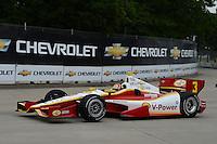 Helio Castroneves, Cheverolet Detroit Belle Isle Grand Prix, Belle Isle, Detroit, MI 06/03/12