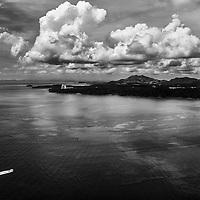 B&W - AERIAL PHOTOGRAPHY PANAMA CITY