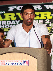 CARSON - MAY 31: Ronald 'Winky' Wright at Home Depot Center Press Conference. All fees must be ageed prior to publication,.Byline and/or web usage link must read PHOTO Eduardo E. Silva/SILVEX.PHOTOSHELTER.COM Failure to byline correctly will incur double the agreed fee.
