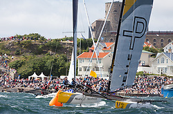 World match racing tour, Sweden 2016. Photo Dan Ljungsvik.