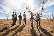 4-H Tour Peach Tree Farm near Ada