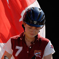 World horseball championship, La Rural Buenos Aires, Argentina 2006.Members of the canada national team at the opening ceremony