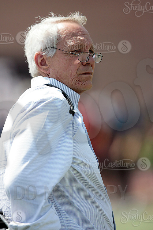 1 April 2009: NFL Assistant General Manager Tom Modrak of the Buffalo Bills during the 2009 USC Trojans NFL Pro Timing Day at Cromwell Field on The University of Southern California campus.  Pro football scouts, personnel directors, coaches, agents and front office executives spent three hours with former college players who have chosen to enter the 2009 NFL draft.....