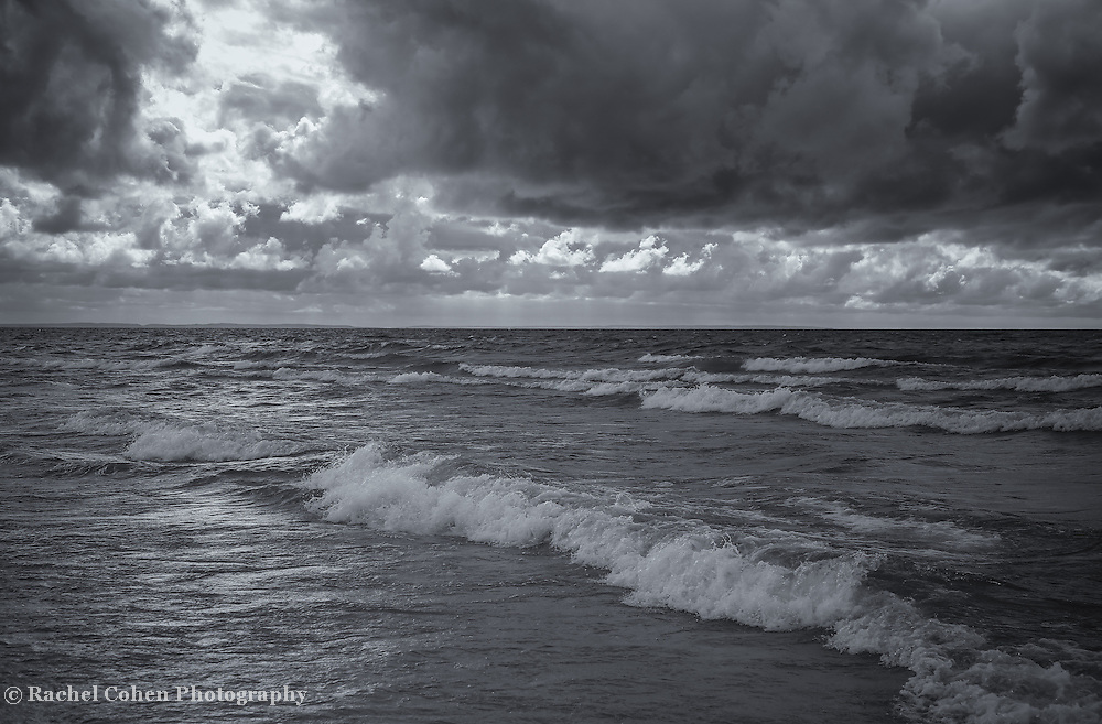 &quot;Turbulent Times&quot;<br /> <br /> Turbulent waters, and sky on the Great Lakes.
