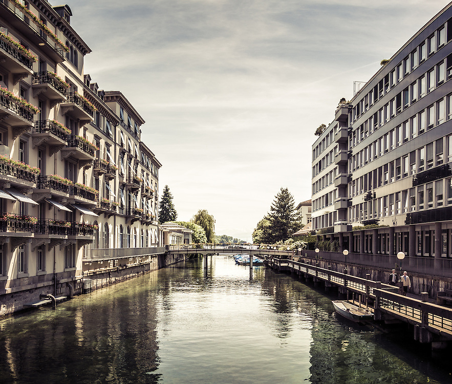 A selection of Zurich's architecture, modern and old.