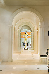 11231 River View Rd Marwood estate on the Potomac Maryland Hallway foyer entrance archway