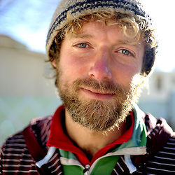 Cass Gibson has toured the world on his bicycle.