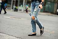 Frayed Jeans and Loafers, Outside Creatures of the Wind