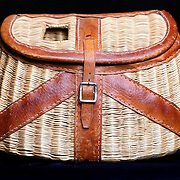 SHOT 9/21/2007 - Antique fishing creel to be used as a promotional mailing piece..(Photo by Marc Piscotty © 2007)