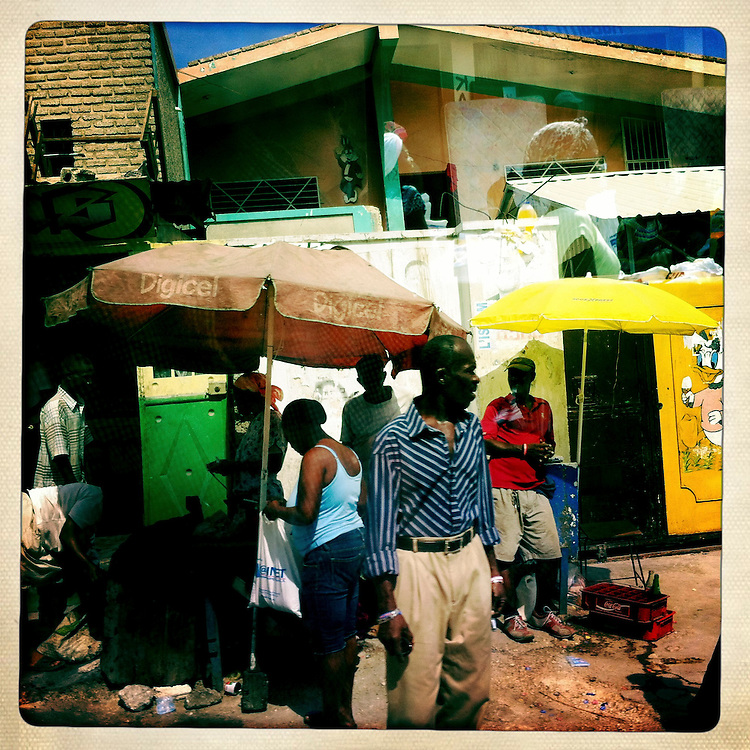 A street scene on Saturday, April 7, 2012 in Port-au-Prince, Haiti.