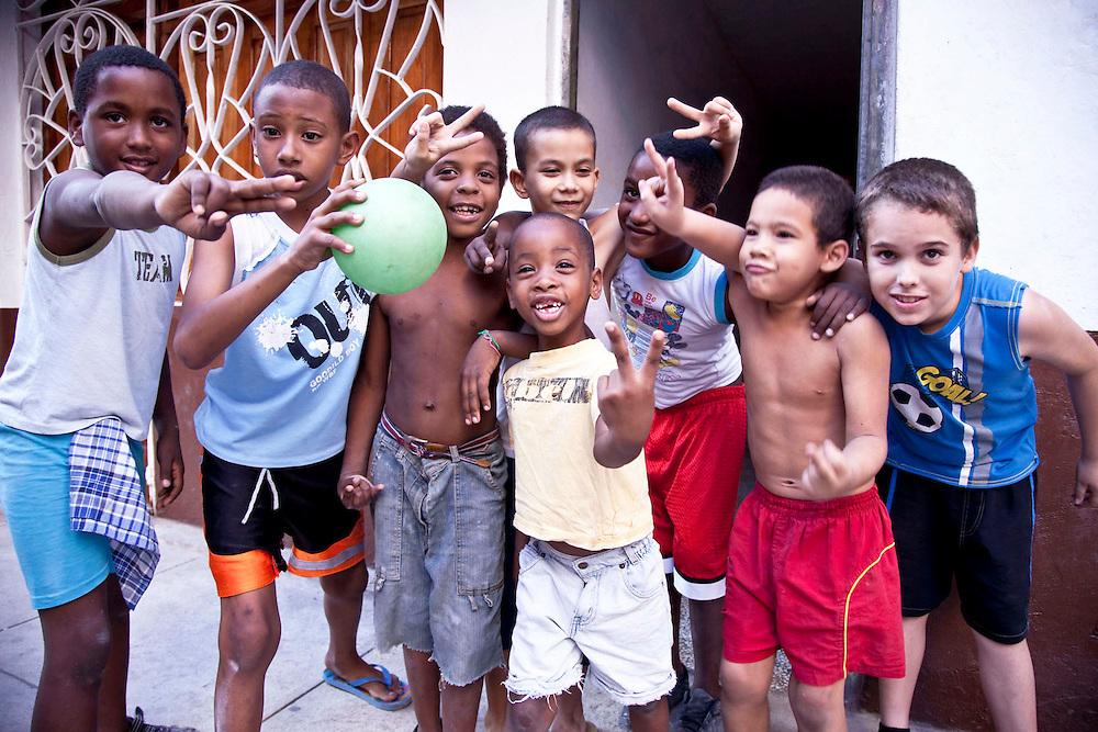 gang of kids Habana Vieja