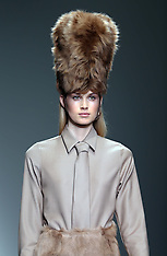 FEB 14 2014 Daks show at London Fashion Week Autumn-Winter 2014